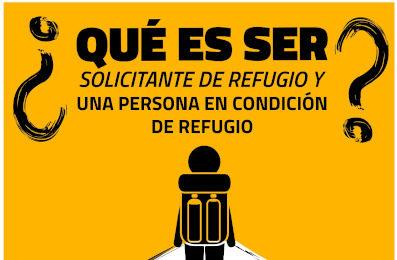 ¿Qué es ser solicitante de refugio o persona refugiada?