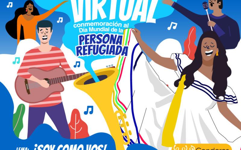 Concierto Virtual en Conmemoración del día Mundial de la persona refugiada