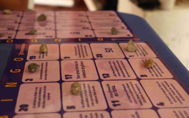 Bingo para la prevención de la violencia de género